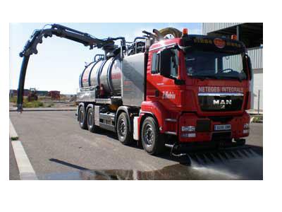 camión vaciado de fosas sépticas en Lleida