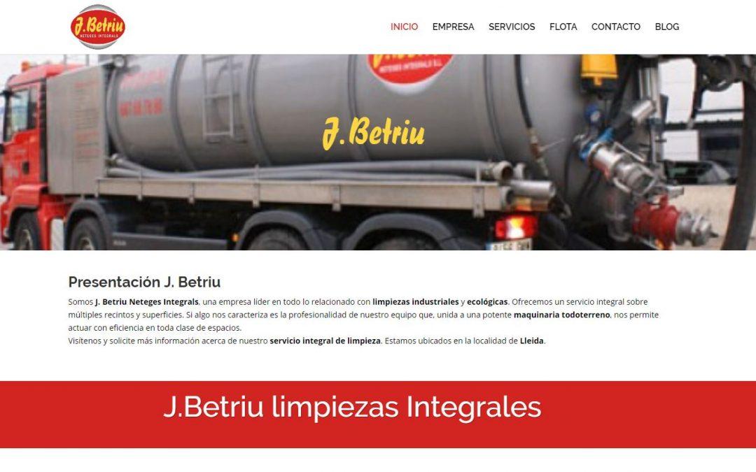 Nueva web J. Betriu